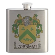 Corrigan Coat of Arms Flask