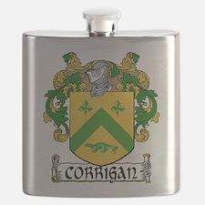 Corrigan Coat of Arms Flask