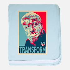 Transform - Wolfman for President 2012 baby blanke