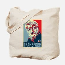Transform - Wolfman for President 2012 Tote Bag