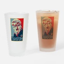 Transform - Wolfman for President 2012 Drinking Gl