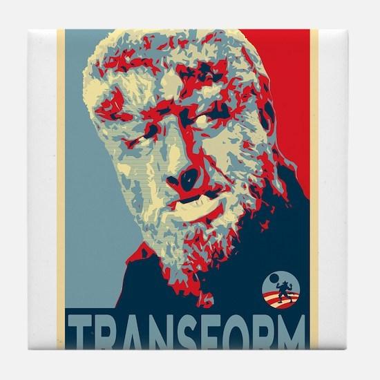 Transform - Wolfman for President 2012 Tile Coaste
