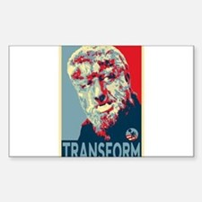 Transform - Wolfman for President 2012 Stickers