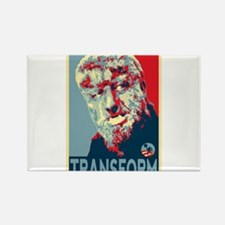 Transform - Wolfman for President 2012 Rectangle M