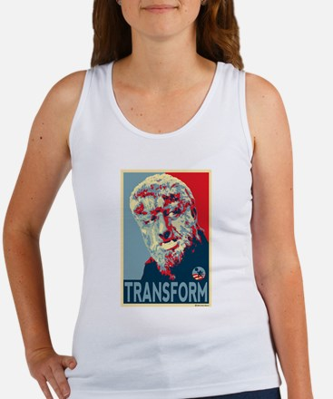 Transform - Wolfman for President 2012 Women's Tan