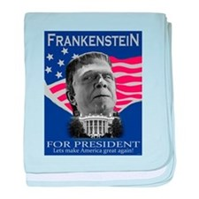 Frankenstein in 2012 baby blanket