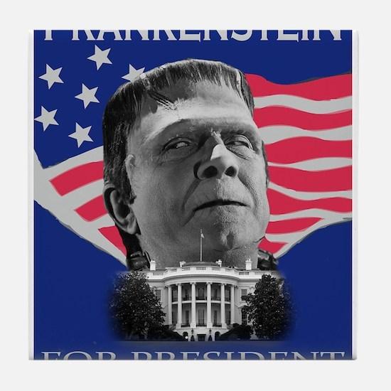 Frankenstein in 2012 Tile Coaster