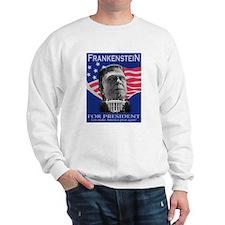 Frankenstein in 2012 Sweatshirt