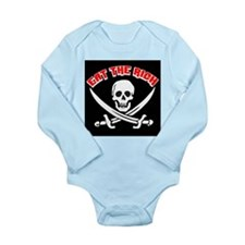 Jolly Roger: Eat The Rich! Long Sleeve Infant Body