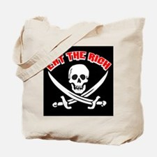Jolly Roger: Eat The Rich! Tote Bag