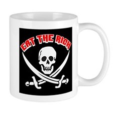 Jolly Roger: Eat The Rich! Small Mug