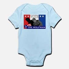 Vote for the Wolfman! Infant Bodysuit