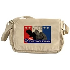 Vote for the Wolfman! Messenger Bag