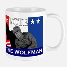 Vote for the Wolfman! Mug