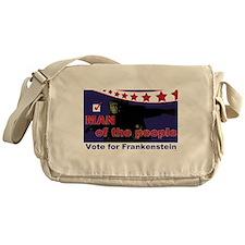 Frankenstein - Man of the people! Messenger Bag