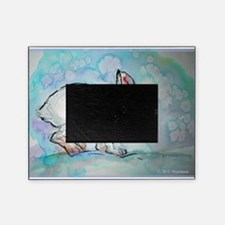 Snowshoe rabbit, Wildlife art! Picture Frame