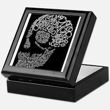 Poor Yorick's Skull: Negative Keepsake Box