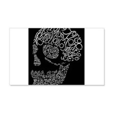 Poor Yorick's Skull: Negative Wall Decal