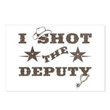 I Shot the Deputy Postcards (Package of 8)