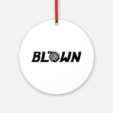 Blown Ornament (Round)