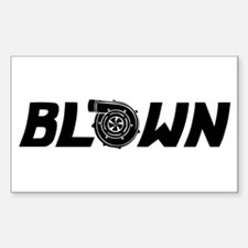 Blown Decal