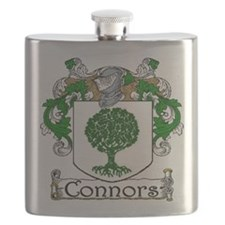 Connors Coat of Arms Flask