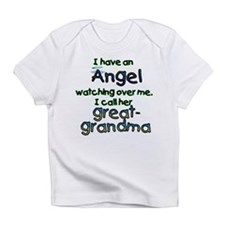 I HAVE AN ANGELGREAT.png Infant T-Shirt