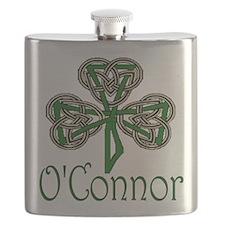 O'Connor Shamrock Flask