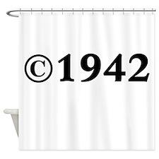 1942 Shower Curtain