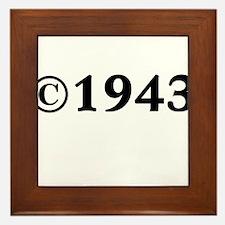 1943 Framed Tile