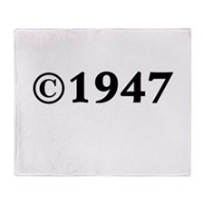 1947 Throw Blanket