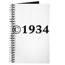 1934 Journal