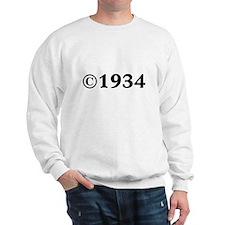 1934 Sweatshirt