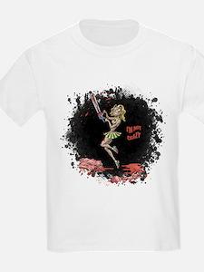 Crazy Chainsaw Girl T-Shirt