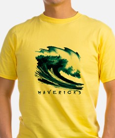 Mavericks Big Wave Surfing T-Shirt