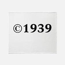 1939 Throw Blanket