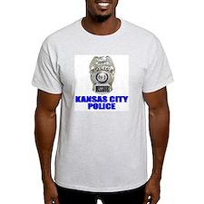 Kansas City Police Ash Grey T-Shirt