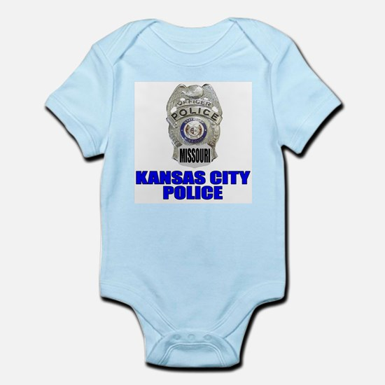 Kansas City Police Infant Creeper