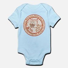 Tree Owl Milestone Month 1 Infant Bodysuit