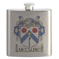 McClure Coat of Arms Flask