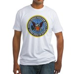 Defense Threat Reduction Fitted T-Shirt