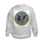 Defense Threat Reduction Kids Sweatshirt