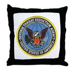 Defense Threat Reduction Throw Pillow