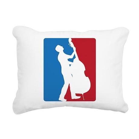 Nat. Double Bass Assc. Rectangular Canvas Pillow