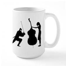 Double Bass Ninja Mug