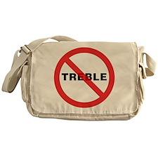No Treble Messenger Bag