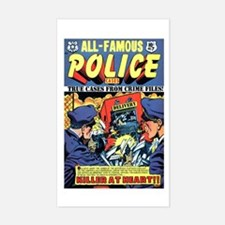 All-Famous Police Cases #7 Sticker (Rectangle)