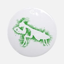 Praying Mantis Ornament (Round)