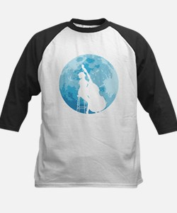 Under The Moonlight Kids Baseball Jersey