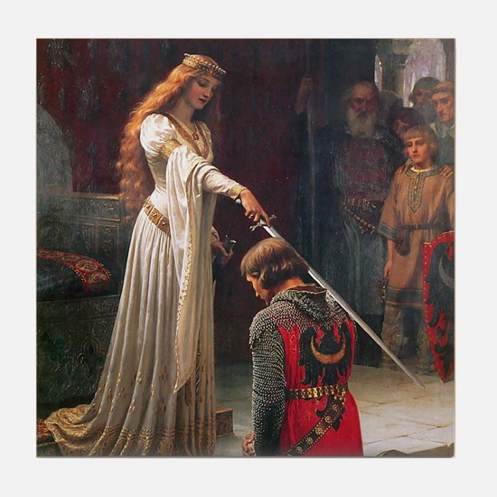 The Accolade by Leighton Tile Coaster